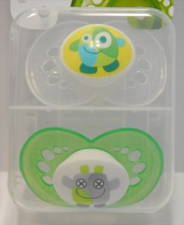 New MAM Baby Pacifiers Boy Girl 6 M Monsters 3 Styles