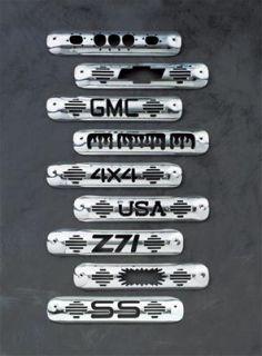 All Sales Manufacturing Billet Third Brake Light Cover 94015