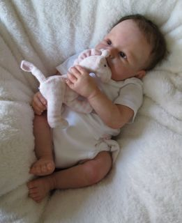 Realistic Reborn Baby Girl ♥ Real Life Doll ♥ Manuela Muth Sculpt