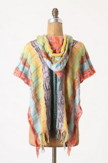 Anthropologie Hooded Marana Vest s Sparrow