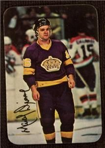 1977 Topps Glossy Marcel Dionne Los Angeles Kings 4