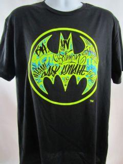 Mens New Marc Ecko Unltd Batman Shirt Vandal Signal Size L XL 2XL 3XL