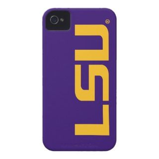 LSU Gold Logo iPhone 4 Case