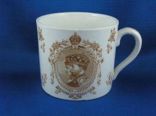 Booths King George V and Queen Mary Commemorative Coronation Mug 1911