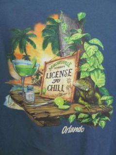 Margaritaville University License to Chill Jimmy Buffett Orlando T