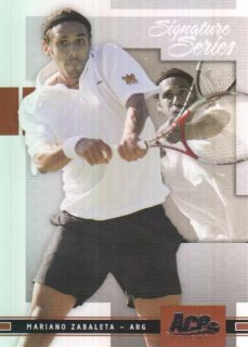 2005 Ace Authentic Signature Series 93 Mariano Zabaleta