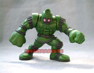 Marvel Comic Super Hero Squad Titanium Man Green Figure