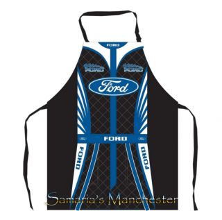 Ford Racing Suit Apron Size 60cm w x 80cm L Great Gift Idea