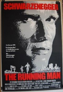 Man Original Movie Poster Arnold Schwartzenegger Maria C Alonso