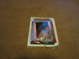 Plaid Bucilla Santas Sweet Shop Felt Stocking Kit 18 New in Package