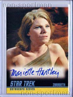 2009 Star Trek Original Autograph A208 Mariette Hartley