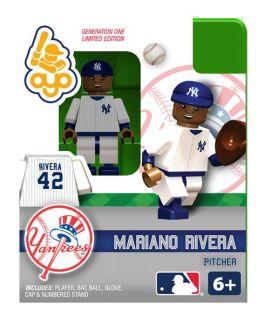 Mariano Rivera Oyo Mini Fig Figure Lego Compatible New York Yankees