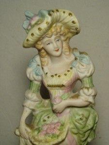 Vintage L M Inc Victorian Lady Figurine Very Pretty
