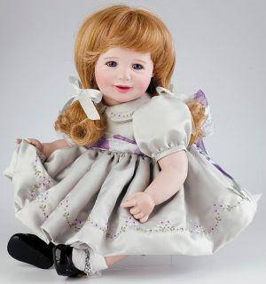 Marie Osmond Doll Baby Kesti 12 quot Seated Porcelain