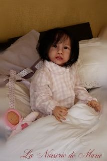 Reborn Baby Girl Doll Toddler Prototype Chenoa Jannie de Lange