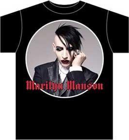 Marilyn Manson Against All Gods T Shirt L New