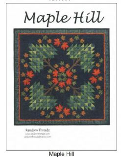 Maple Hill Quilt Pattern Random Threadz