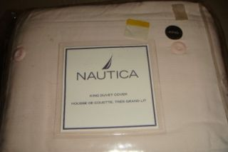 Nautica Mariners Cord Light Weight Corduroy Duvet Cover 106X92