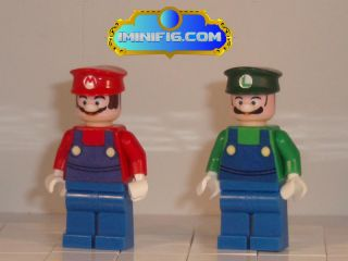Lego Custom Super Mario and Luigi 037B