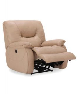 Dante Leather Seating with Vinyl Sides & Back Power Recliner Chair, 41