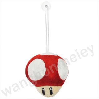 Super Mario Bros Mushroom 5 Plush Toy Doll M60