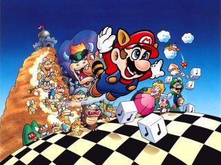 Nintendo Super Mario 3 Official Bowling Shoulder Bag NW