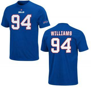 Buffalo Bills Mario Williams Eligible Receiver Royal Blue Jersey T