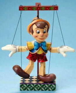 2010 Jim Shore Disney Pinocchio Marionette Free s H