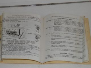 1944 Directions John Deere Van Brunt Model F Wood Box Fertilizer Grain