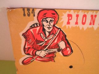 Vintage Marx Daniel Boone Wilderness Scout Flintlock Pistol Cap Gun