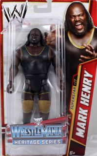Mark Henry WWE Series 26 Mattel Toy Wrestling Action Figure