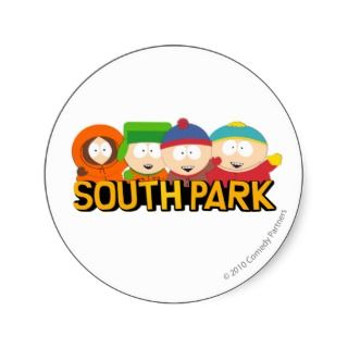 South Park Boys   Wide Sticker