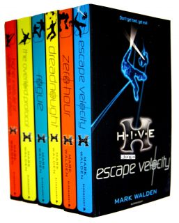 Mark Walden H I V E Series Collection 6 Books Set Pack