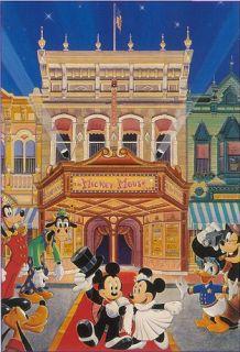 Disney Cinema Movie Theater Mickey Fab 5 Signed Souders