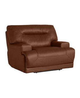 Leather Power Recliner Chair, 48W x 44D x 38H   furniture