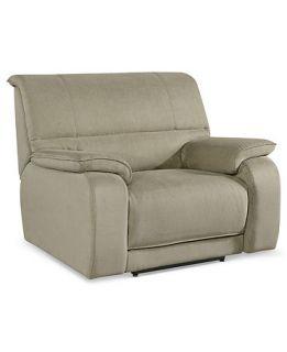 Fabric Power Recliner Chair, 48W x 40D x 39H   furniture
