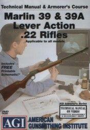 AGI Marlin 39 39A Lever Action Rifle Gunsmith Fixit DVD
