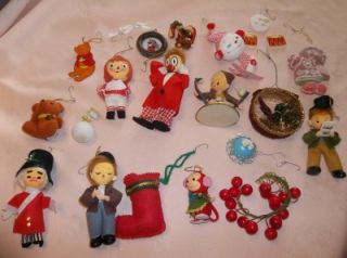 Vintage Christmas Tree Ornaments Decorations Some Marked Japan