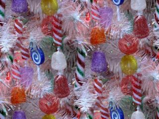 candy christmas tree decoration picture and wallpaper