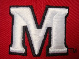 University of Maryland UM Terrapins Fitted Cap Sz 7 1 4