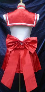 Animation Sailor Moon Red Mars Cosplay Costume Fancy Party Uniform