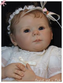 Stunning Reborn Baby Girl Marley Ann Timmerman Prototype by Bushel and