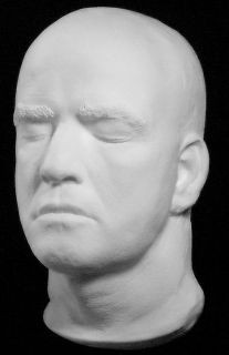 Marlon Brando Life Mask Movie Apocalypse Godfather