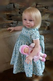 Toddler Baby Girl Doll Prototype Jannie de Lange Andres Kit