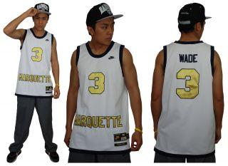 Dwyane Wade Marquette Golden Eagles College Jersey NBA Nike Swingman