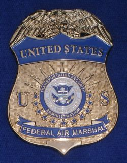 Federal Air Marshal Badge US Federal Police Badge Polizeimarke