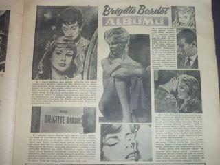 Giant cvr Sophia Loren John Wayne Martine Carol Vera Nepy 32641