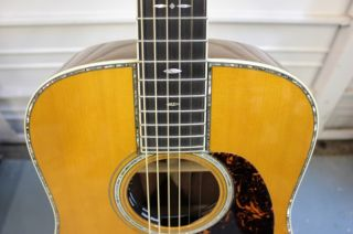 2008 Martin Custom Ordered D 45 Marquis Acoustic Electric Guitar