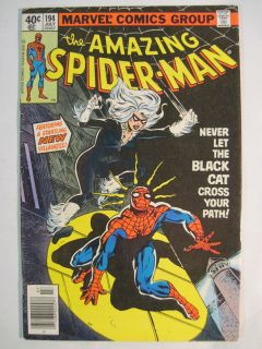 AMAZING SPIDER MAN #194 JULY 1979 MARVEL COMICS 1ST APPEARANCE OF THE