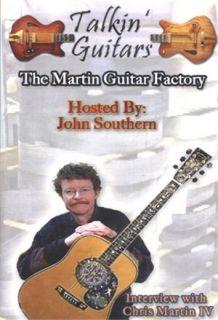 Talkin Guitars The Martin Guitar Factory DVD New